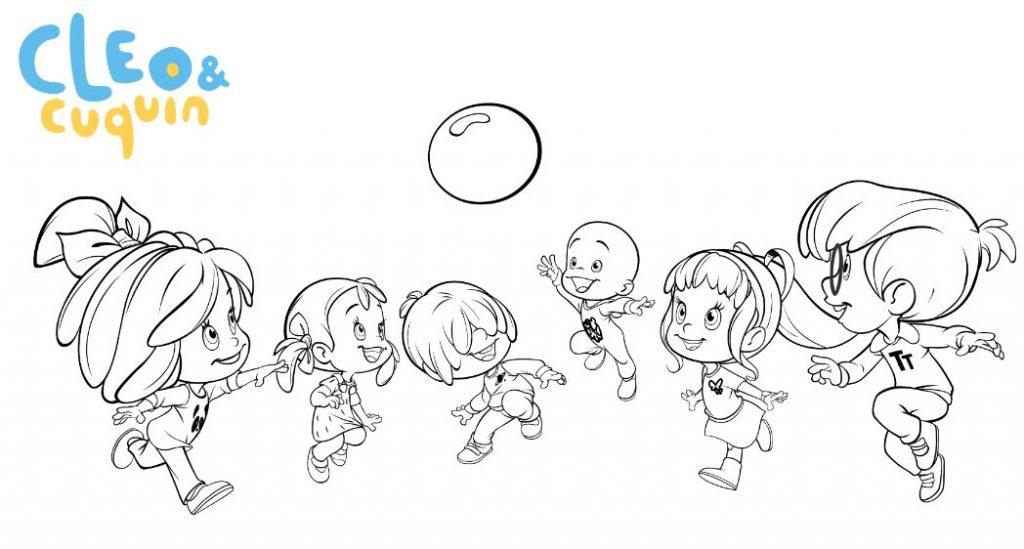 Dibujos Animados Para Colorear: La Familia Telerin Para Colorear
