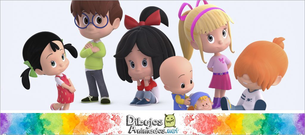 Personajes Familia Telerin Dibujos Animados 2021