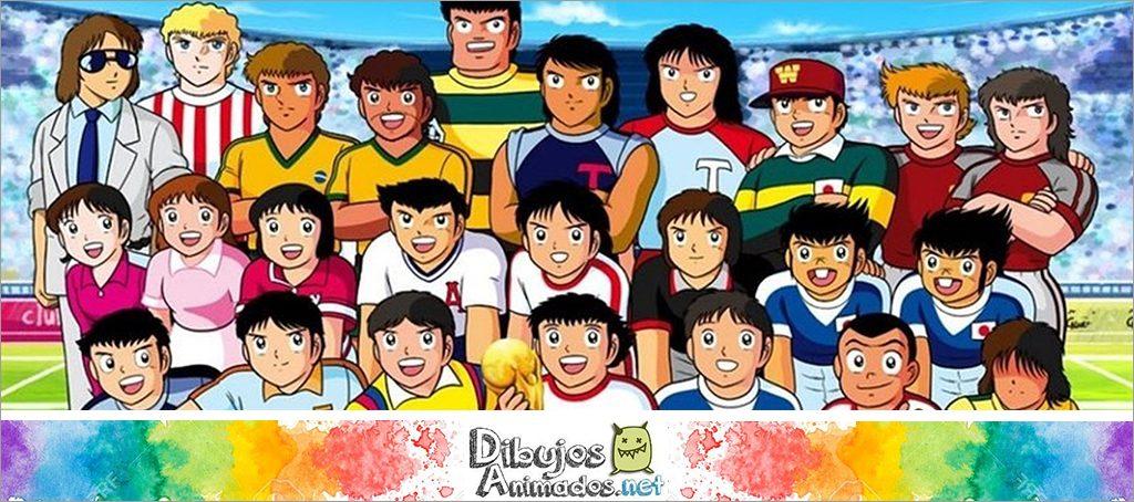 personajes oliver y benji - campeones