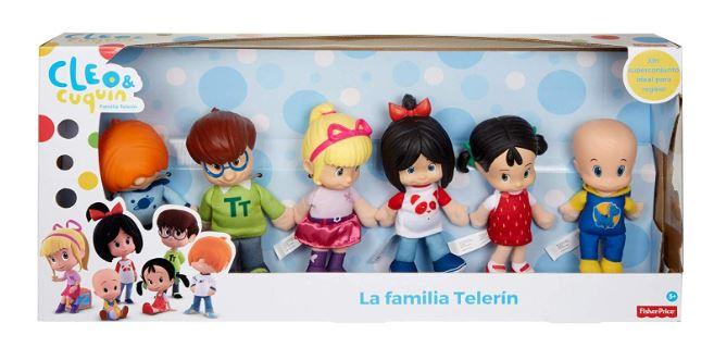 Cleo Cuquin Muñeco Cuquín Juguete De La Familia Telerín Mattel Fvr92