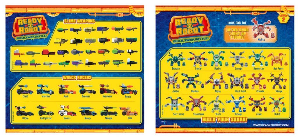 guia de robots y armas ready to robot serie 1