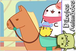 caballo personaje molang