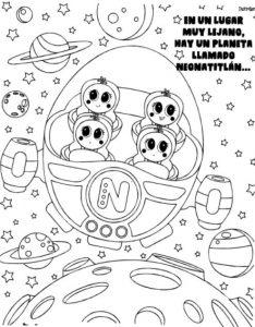 Colorear Ksi Meritos Nave Dibujos Animados