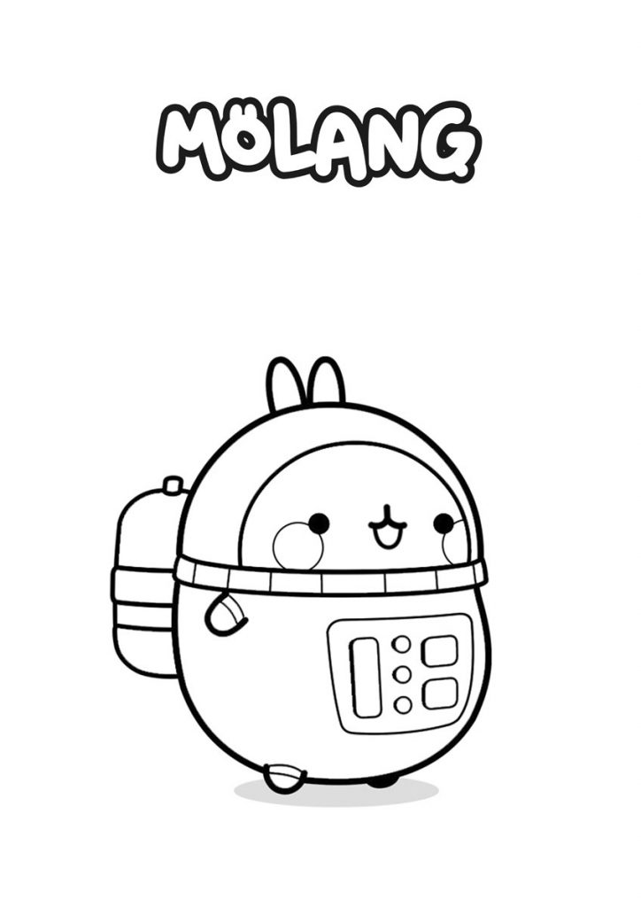 molang submarinista
